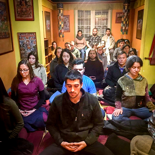 practica de meditacion